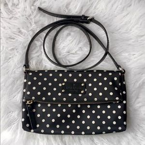 Kate Spade Polka Dot Nylon Crossbody Bag